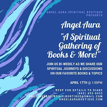 Angel Aura Spiritual Boutique Book Club.