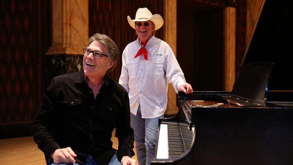 Rick Perry with Gary P. Nunn