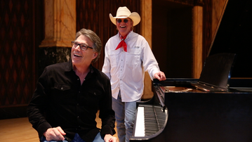 What does Rick Perry like about Texas? He'll tell you, in new travel video with Gary P. Nunn
