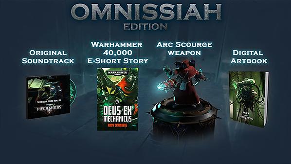 Warhammer 40,000: Mechanicus   video game