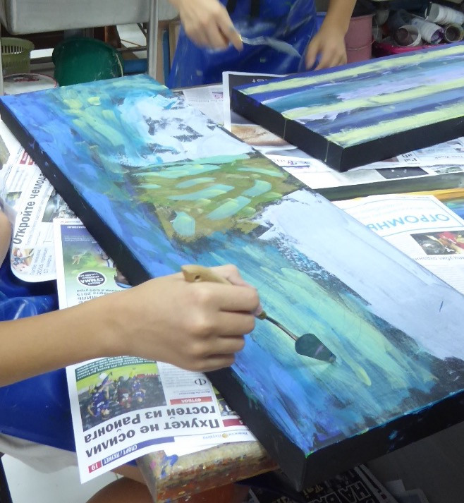 Mixed Media Artist in Residence Workshop