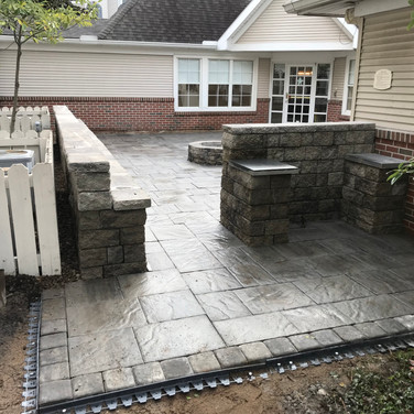 State College Paver Patio and Seating Area