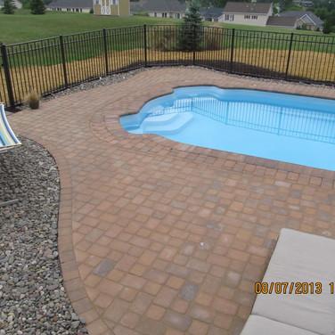 Pool Side Pavers