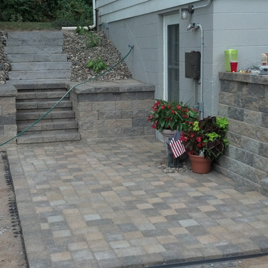 After Steps and Patio Pavers