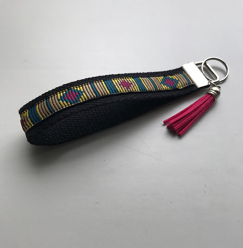 Diamond Southwest Cotton Key Fob Wristlet