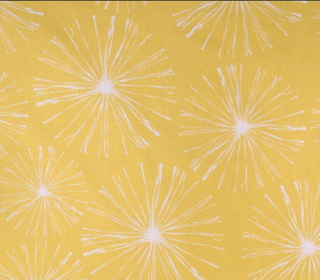 """Premier Prints Sparks in Mimosa Insulated Camper Curtains Window Shade up to 19"""""""