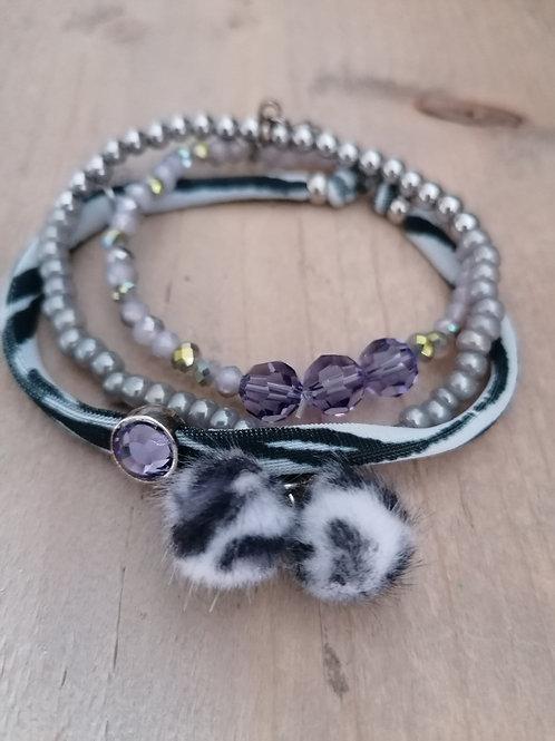 Set Zebra Purple
