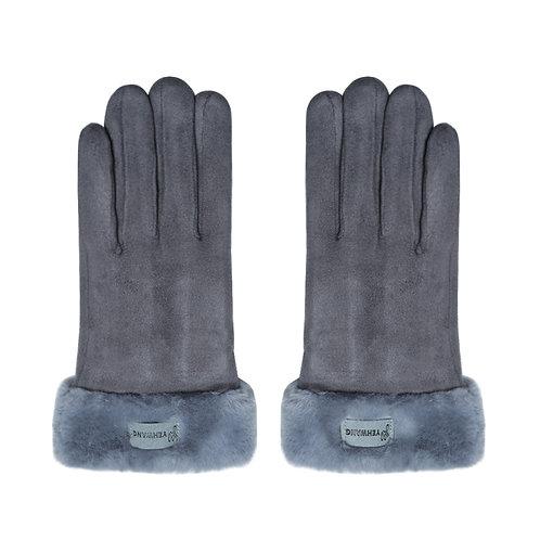 Gloves Always Warm Grey