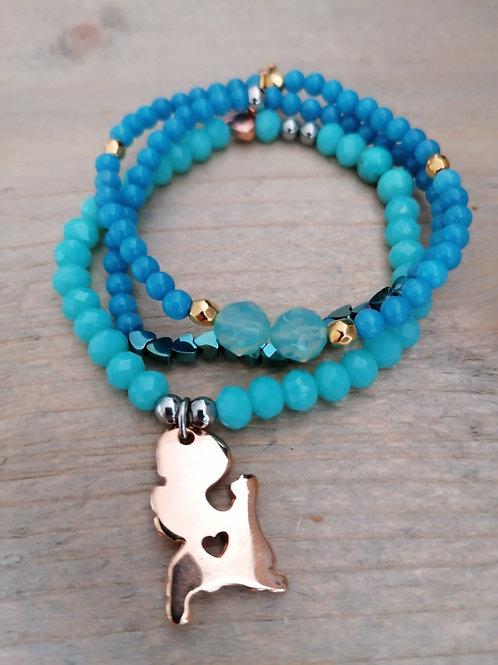 Set Blue & Turquoise