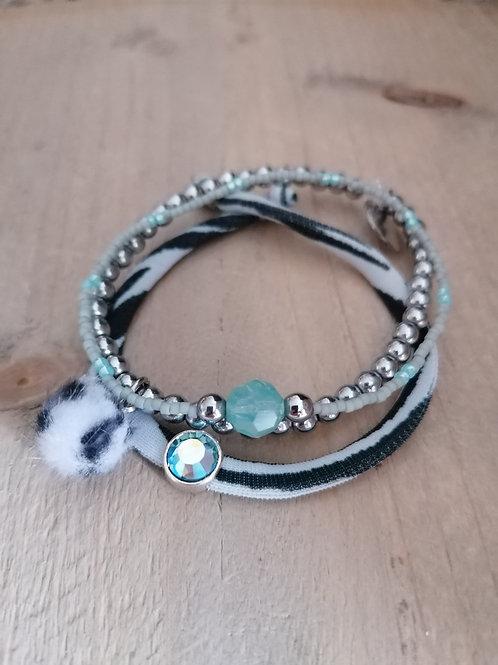 Set Blue Opal
