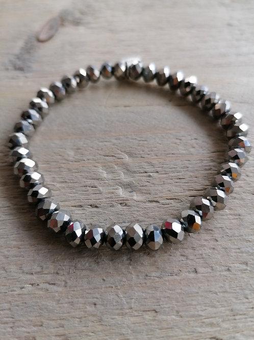 Swarovski Metallic Silver