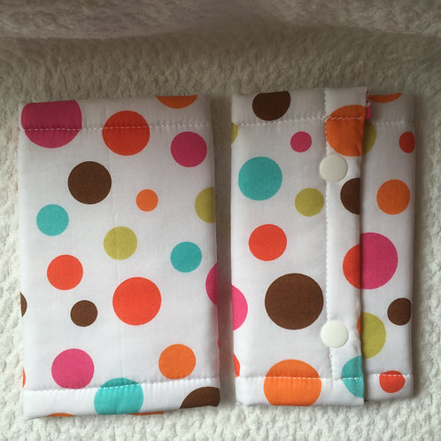 Suckpad for Baby carrier/Polka dots