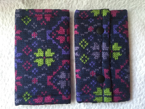 Suckpad for Baby carrier/Geometric pattern(winter)