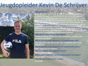 Nieuwe jeugdopleider: Kevin