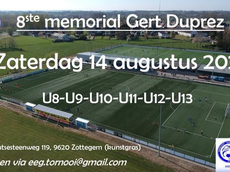Memorial Gert Duprez