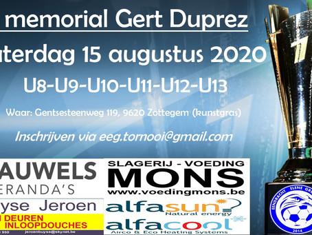 7de Memorial Gert Duprez