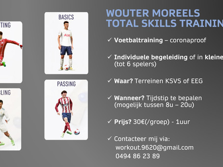 Wouter Moreels total skills training
