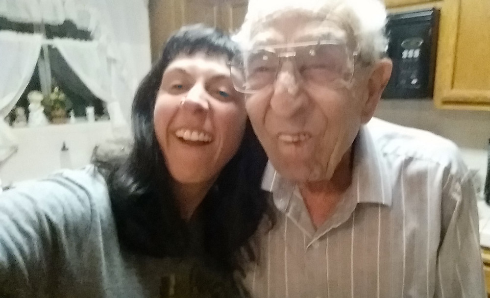 It is a fact that my grandpa and I are silly.