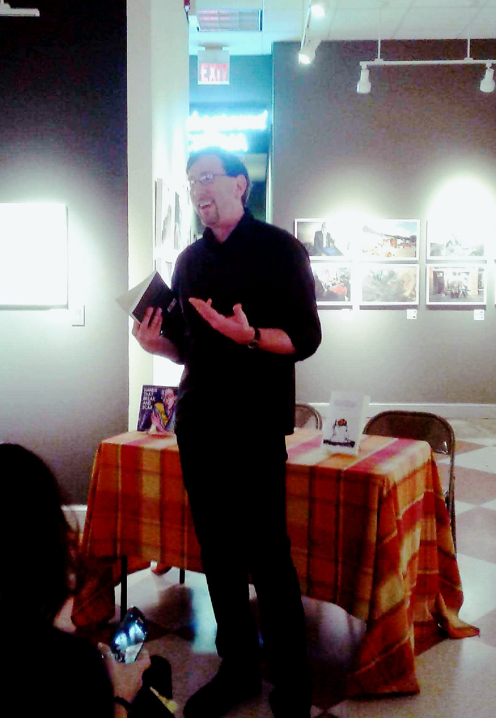 Forrest Roth at Taylor Books in Charleston, WV