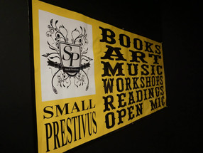 Small Press Fest, Live Music, & A Little Heart Opening