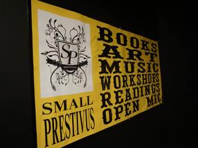 Small Press Fest, Live Music, & A Little Heart Opening