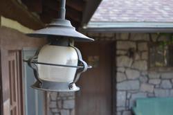Old porch lantern