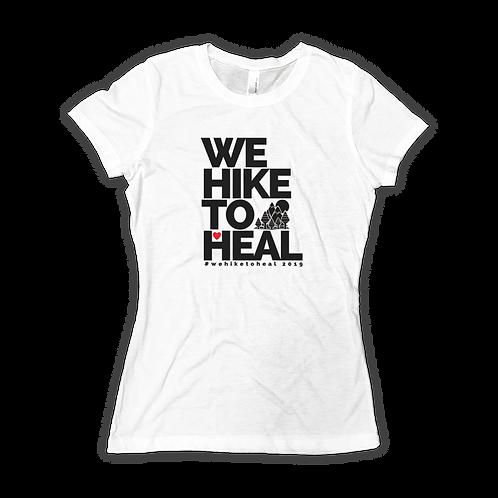 #wehiketoheal 2019 T-Shirt