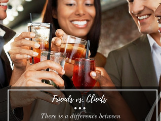 The VERSUS SERIES: Friends Vs. Clients
