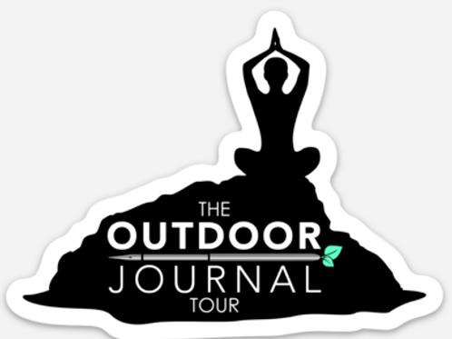 Outdoor Journal Tour Sticker