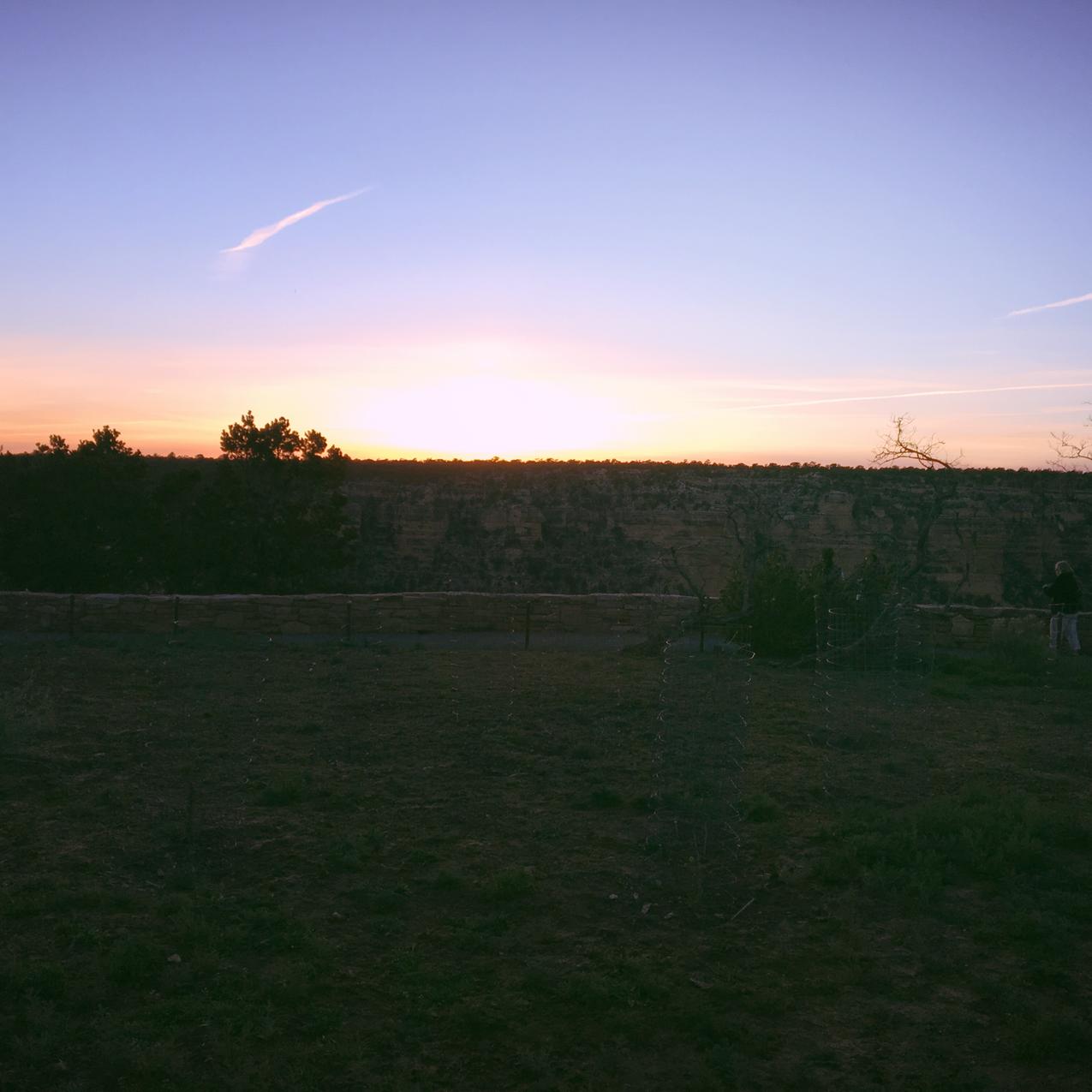 Sunset Near El Tovar Lodge