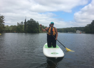 Conquering Fears and SUP!
