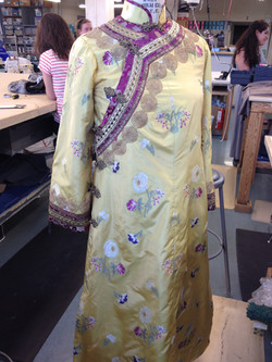 silk brocade robe - princess