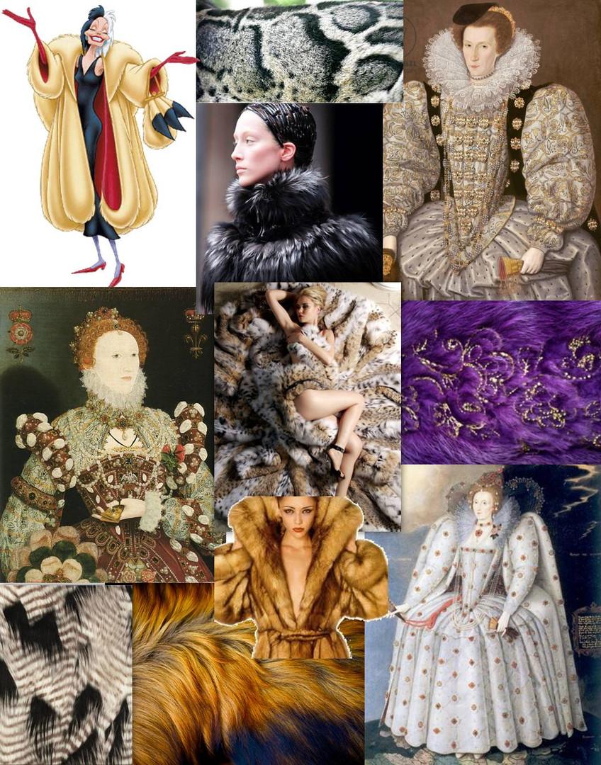Cruella Devil Elizabethan Time Period