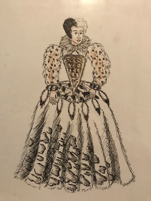 Cruella Elizabethan