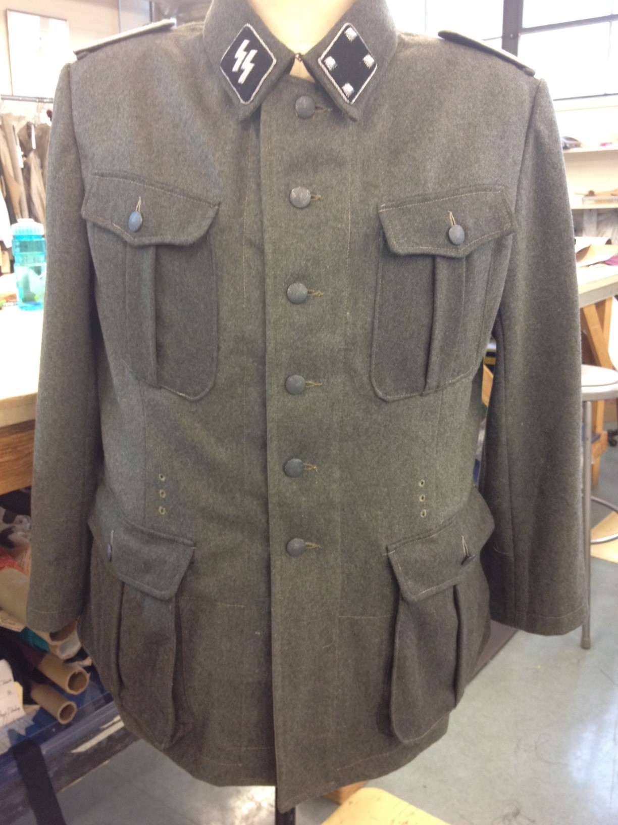 reconstructed captain jacket