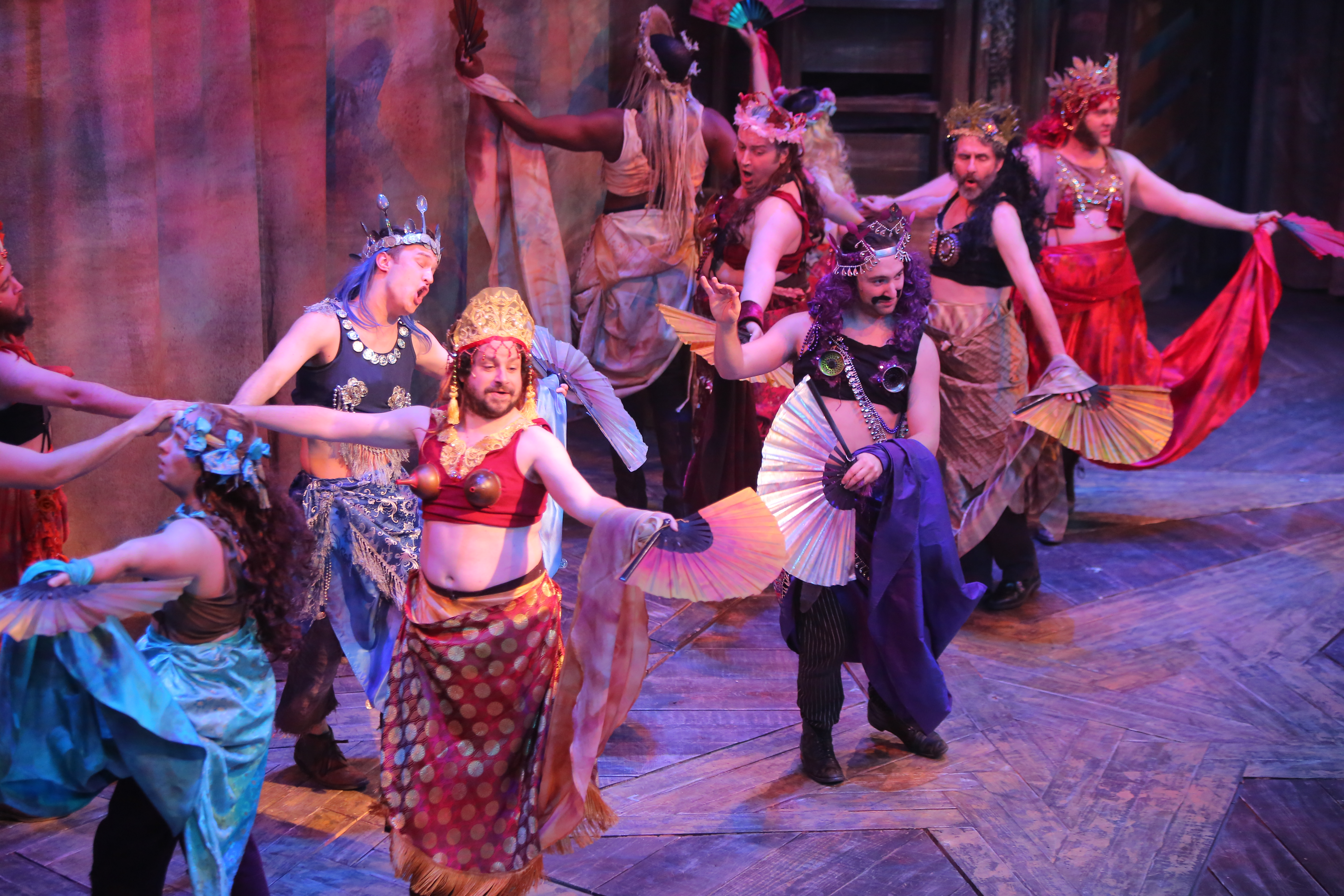 Mermaids Peter and The Starcatcher