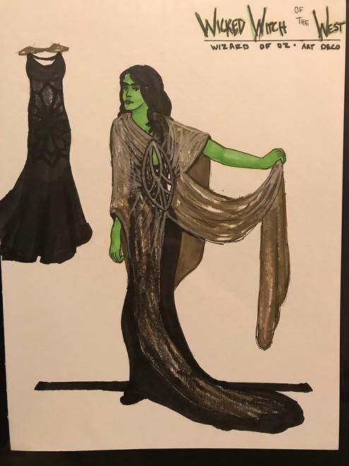 Wicked Witch Art Deco