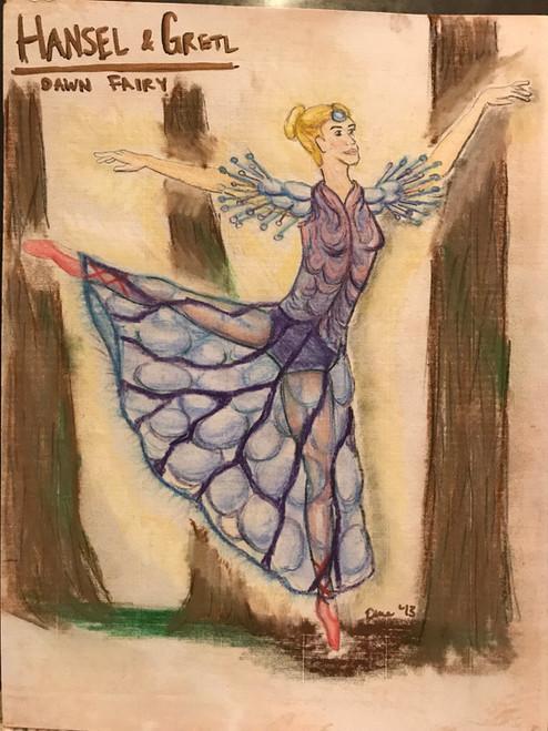 Dew Fairy Rendering