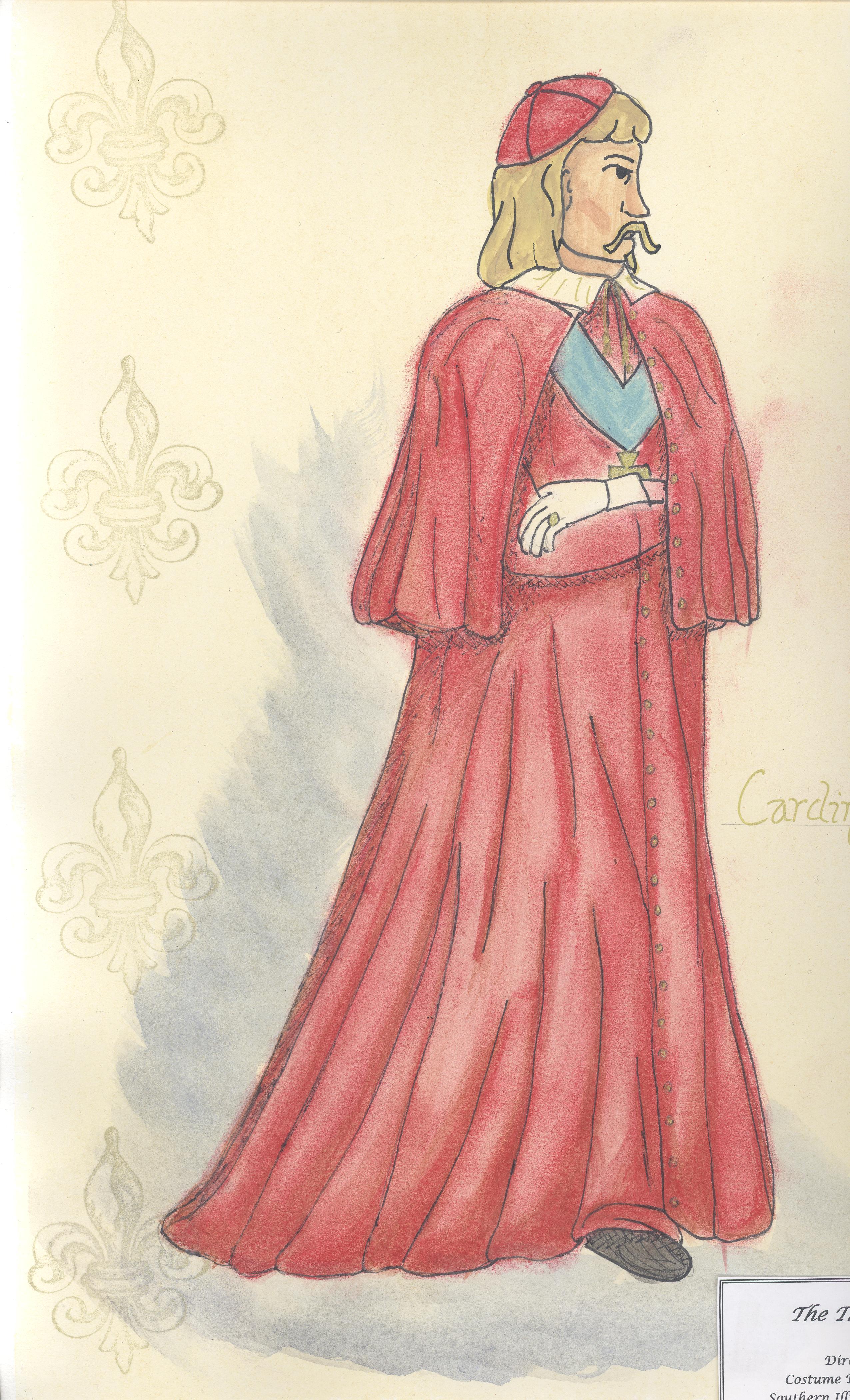 Cardinal Richelieu Rendering