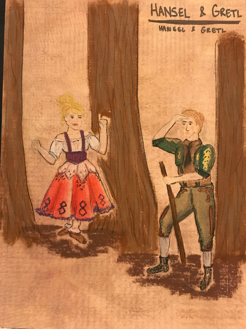 Hansel and Gretl Rendering