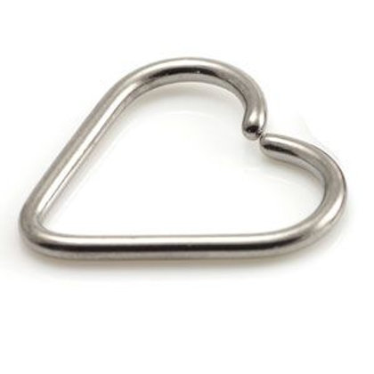 Steel Heart Ring