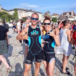 France Aquathlon 2019 Mathilde & Franck.
