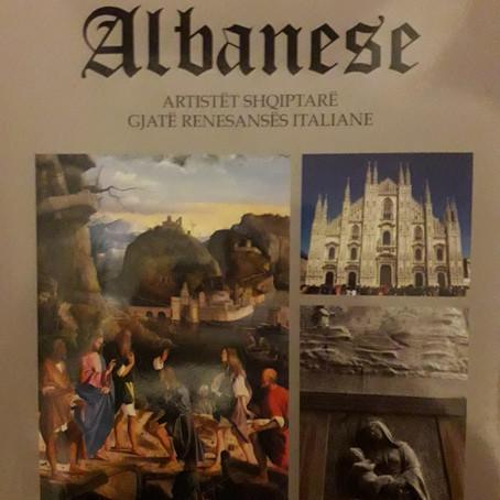 """VËSHTRIM I LIBRIT """"ALBANESE-ARTISTËT SHQIPTARË GJATË RENESANËS ITALIANE"""""""