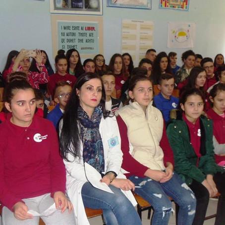 Mirëpritje nga nxënësit e Durrësit