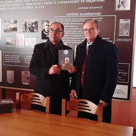 Pelegrinazh me shkrimtare te Gjergj Fishta ne Lezhe ne 79 vjetorin e vdekjes se tij