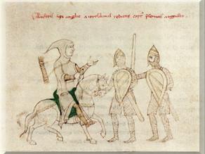 KUR MBRETI I ANGLISË RICHARD COEUR DE LION ËSHTË KAPUR ROB I VESHUR ME FUSTANELLËN SHQIPTARE