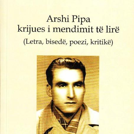 Një libër ndryshe për Arshi Pipën