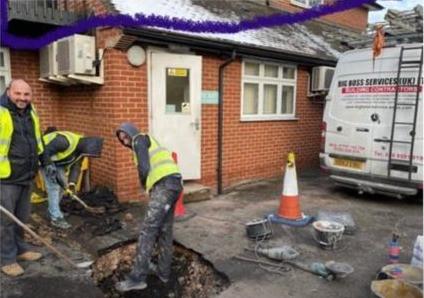 "North Street Medical Care falenderon publikisht ""Big Boss Services UK Ltd"""