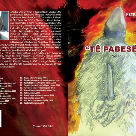 "Disa fjale nga Prof Thanas Hoda per romanin ""Te pabeset"""
