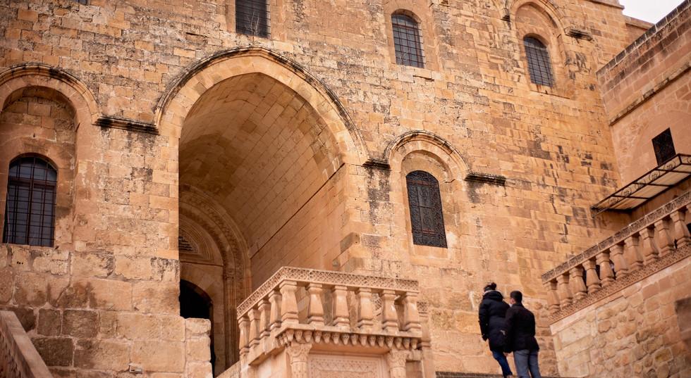 Limestone Mansions in Mardin City